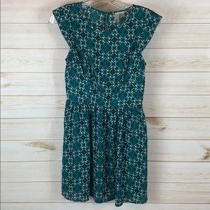 Greenish Teal Dress/S